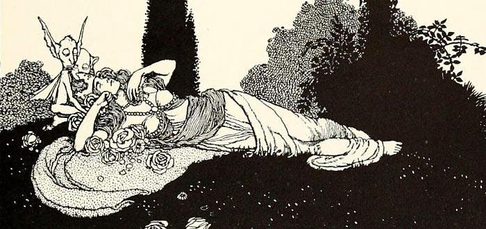 rey de las hadas, esposa, titania