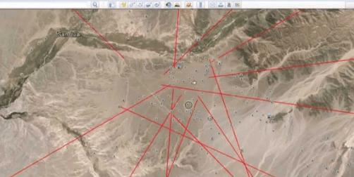 Google Earth: Las Lineas de Nazca están conectadas a un complejo de Templos en Camboya y Tailandia