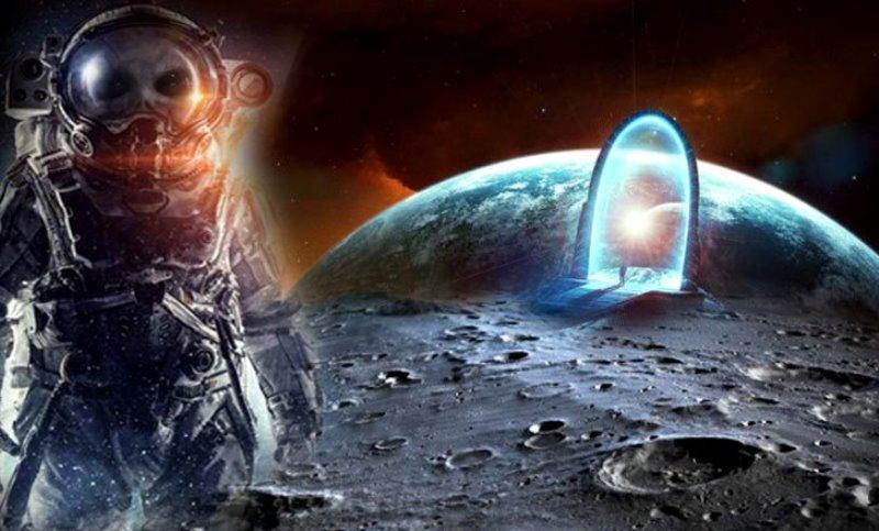 """La misión Apollo 17 fotografió un """"Stargate"""" en la Luna!"""