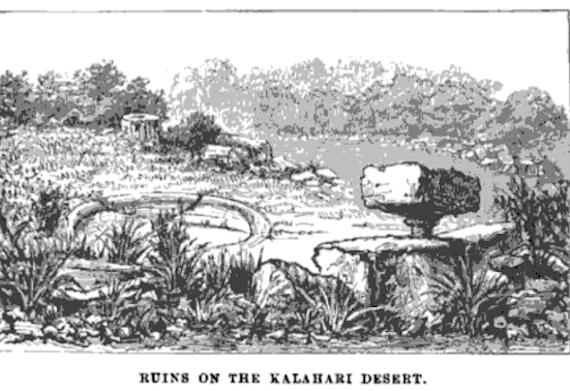 La misteriosa ciudad perdida del Kalahari