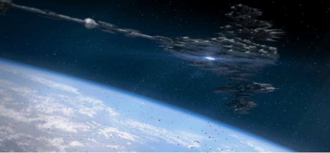 La NASA canceló su transmisión después de filmar por accidente el mejor avistamiento Ovni