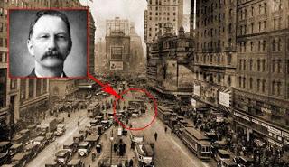 La sorprendente historia del viajero del tiempo que murió en Time Square en 1950