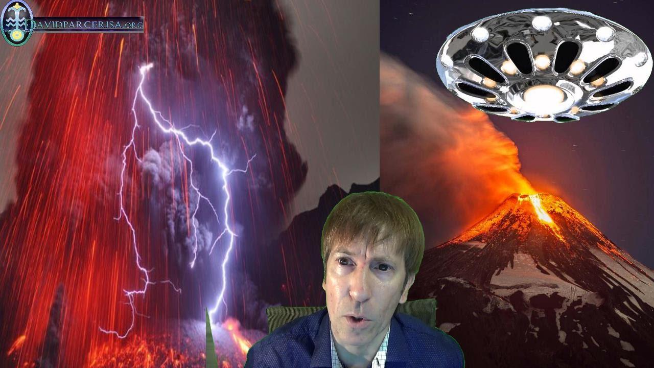 ¿Las naves desconocidas que sobrevuelan los volcanes tendrán la tecnología para activarlos?