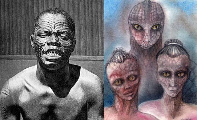 Las tribus que rinden culto a los dioses reptilianos