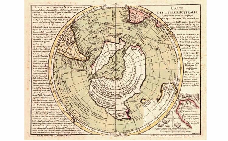 Mapas extremadamente antiguos y detallados que no deberían existir