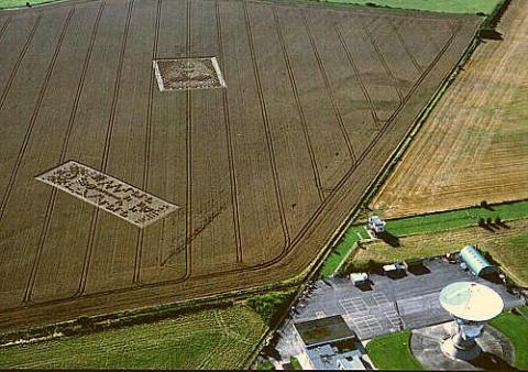 Mensajes extraterrestres de los círculos de las cosechas decodificados