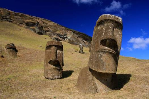 Misterio resuelto? Los moáis de Rapa Nui marcan lugares para extraer agua dulce