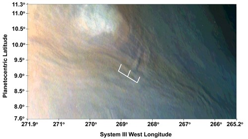 Olas de 10 km recorren Júpiter