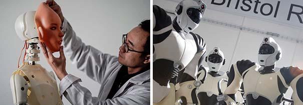 Para el año 2050, podremos asistir a nuestro propio funeral .... como robot