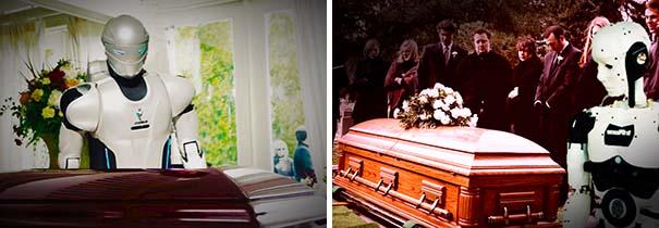 Para el año 2050, podremos asistir a nuestro propio funeral …. como robot