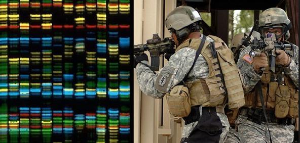 Represion: Escaner de ADN para el ejército