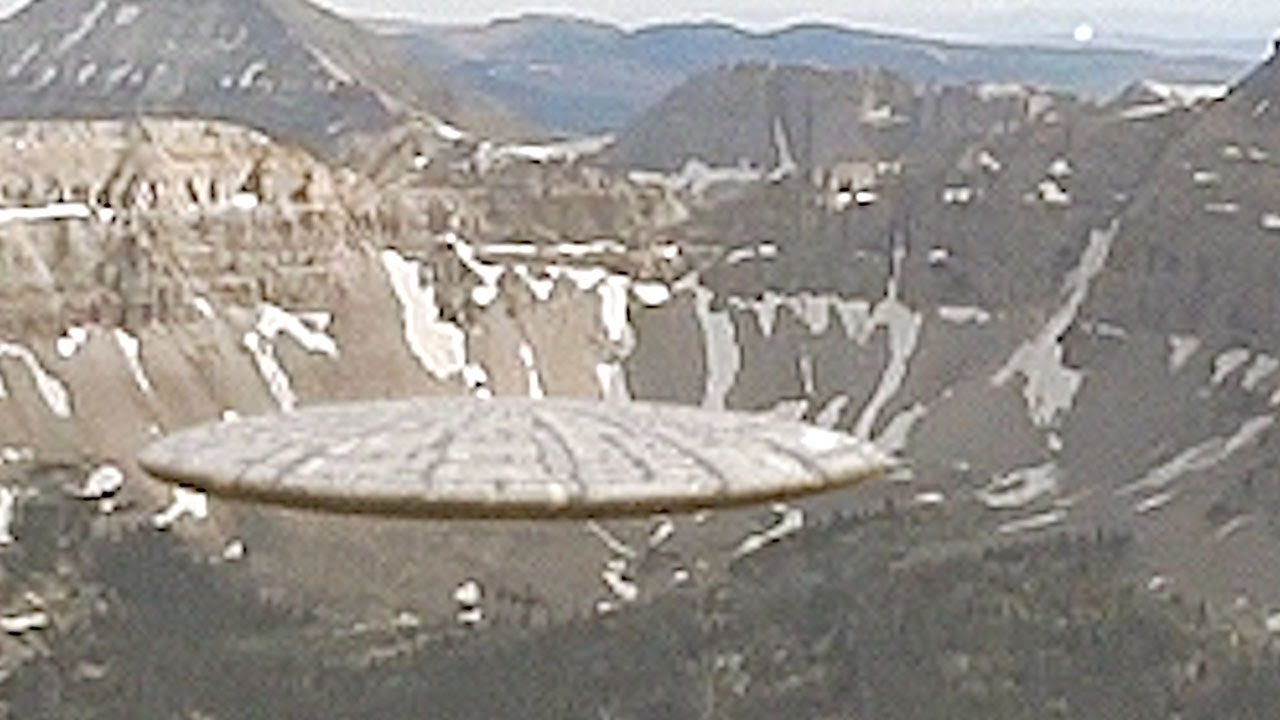 UFO spotted over the UINTA MOUNTAINS – USA !!!