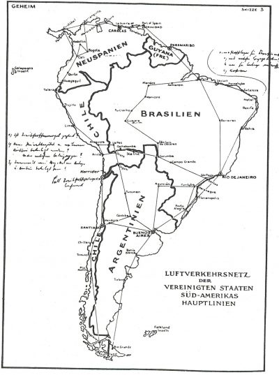 El falso mapa nazi que provocó una guerra