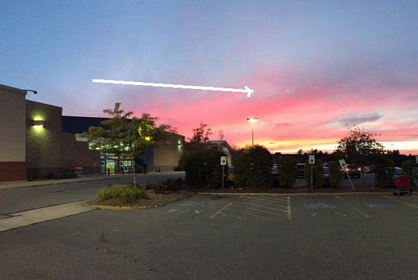 Captan extraños OVNIs luminosos o Orbs en New Hampshire, EE.UU.