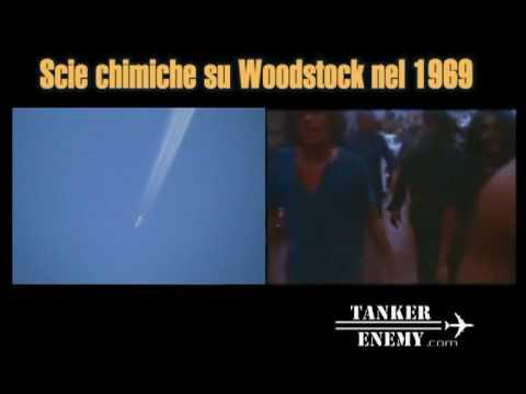 Chemtrails en Woodstock 1969