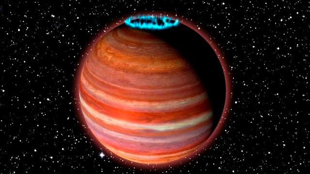 Científicos descubren un planeta más grande que Júpiter y que está emitiendo ondas de radio