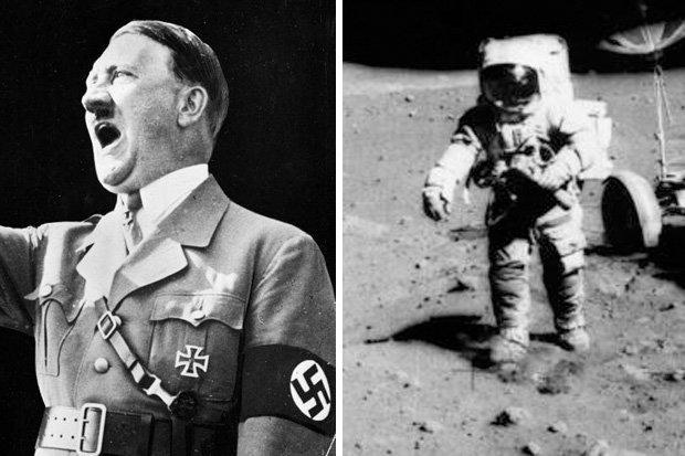 Hitler el primer hombre en la luna,misiones espaciales nazis