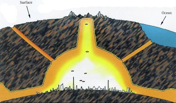 INDIA, los habitantes de la región de Tarai dicen que los extraterrestres están construyendo bases en las montañas del Himalaya