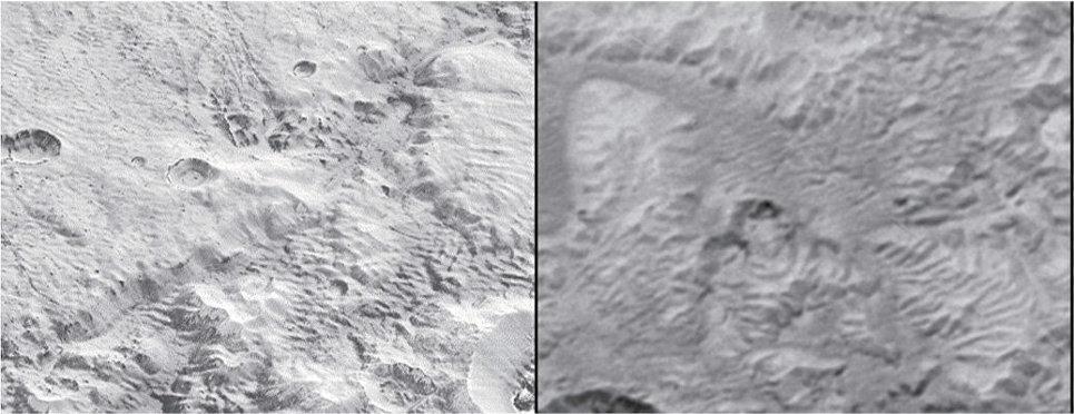Los astrónomos han descubierto cómo los misteriosos canales de Plutón