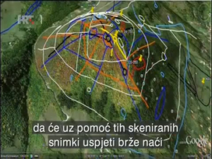 Pasadizos internos de la Pirámide del Sol de Bosnia