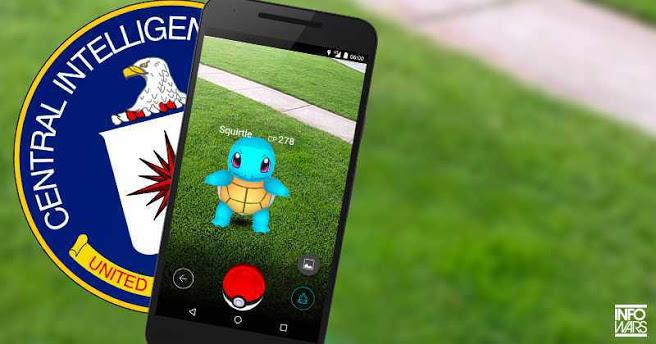 PokémonGo está vinculado a la CIA