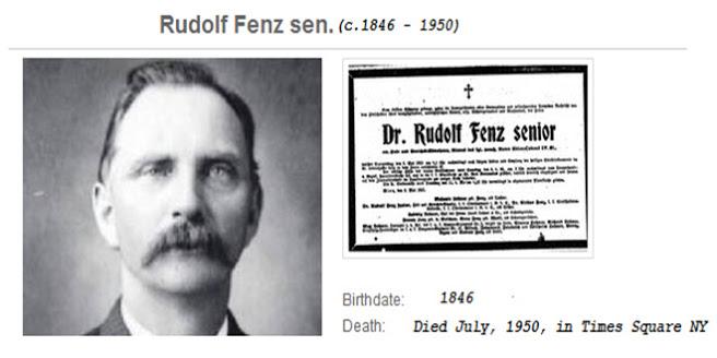 Rudolf Fenz, ¿un viajero del tiempo?