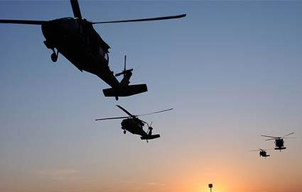Helicópteros negros.No solo en los Estados Unidos