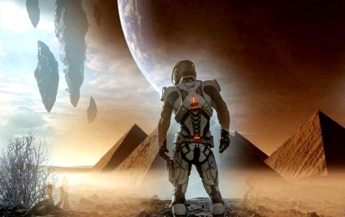 Los documentos de la CIA muestran que existió una antigua raza alienígena gigante en Marte
