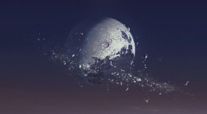 ¿Qué ocurriría si explotase la Luna?