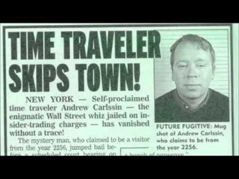 Andrew Carlssin: El misterio tras el supuesto viajero en el tiempo que se hizo millonario