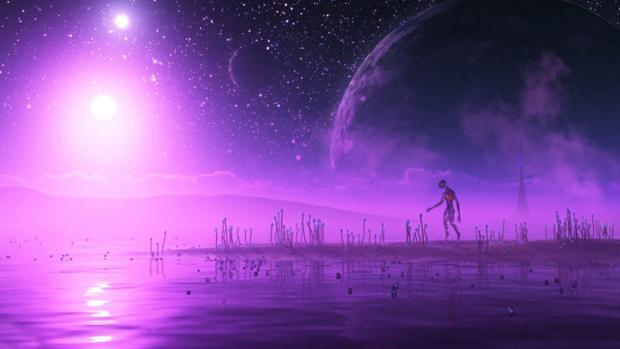 Diminutos organismos de color púrpura podría aprovechar el poder de sus estrellas para obtener energía.