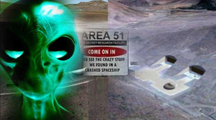 """ÁREA 51: """"Los cuerpos y aviones de extraterrestres se encuentran en el sitio Tonopah Test Range-S4"""""""