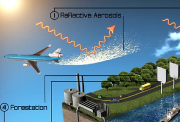 """Cuidado con las Chemtrails: Nuevo estudio pide una """"fumigacion de aerosoles estratosférica"""" mundial para el año 2030"""