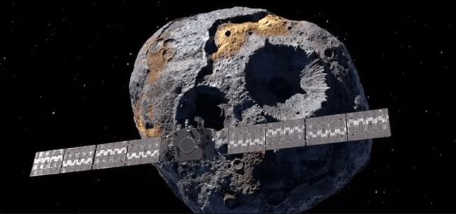 Hay un Asteroide de Oro en el espacio que vale más de 10 000 cuatrillones de dólares