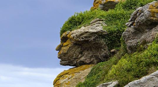 Caras en las rocas, reliquias ancestrales o pareidolias