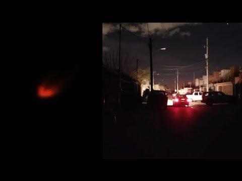 DERRIBAN UN OVNI EN MÉXICO DEJANDO A OSCURAS Y SIN LUZ CIUDAD JUÁREZ
