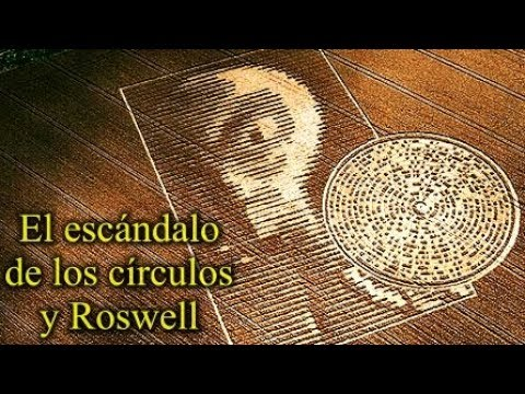 El escándalo de los círculos de las cosechas y Roswell