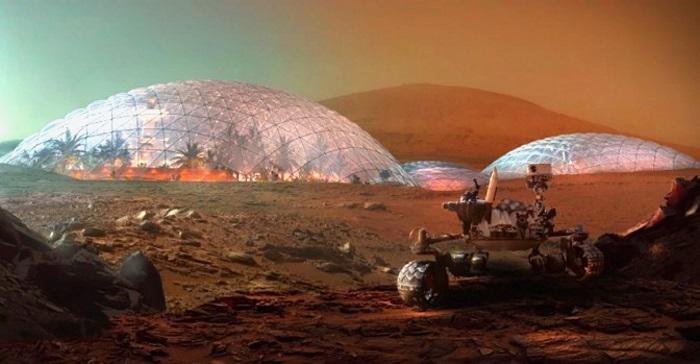 Google Mars muestra una supuesta «Ciudad Alien» en el Planeta Rojo