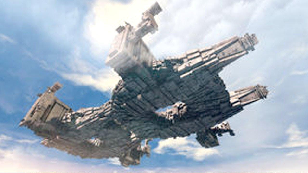 Huge UFO over NEW ZEALAND (CGI)
