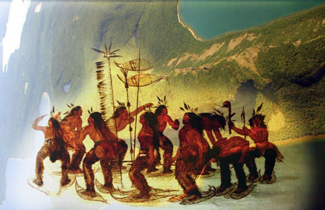 La Leyenda nativa americana del Gigante Durmiente y la codicia del Hombre Blanco