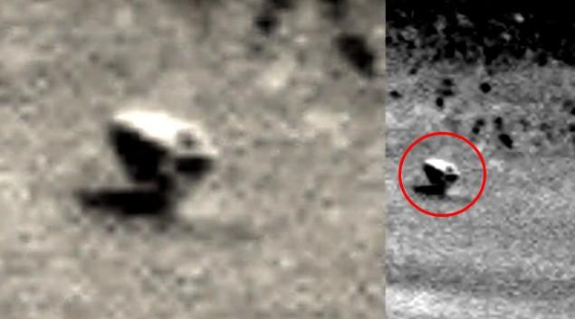 MARS, el Rover Opportunity fotografía un misterioso «Dispositivo Alien» en la región de Meridiani Planum