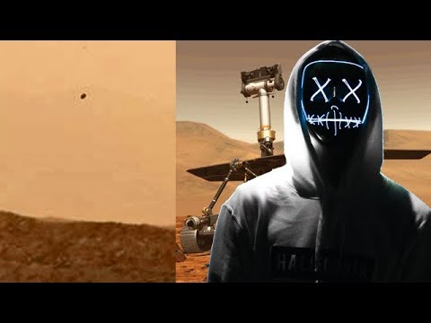 NASA MUESTRA OVNIS EN MARTE POR ERROR