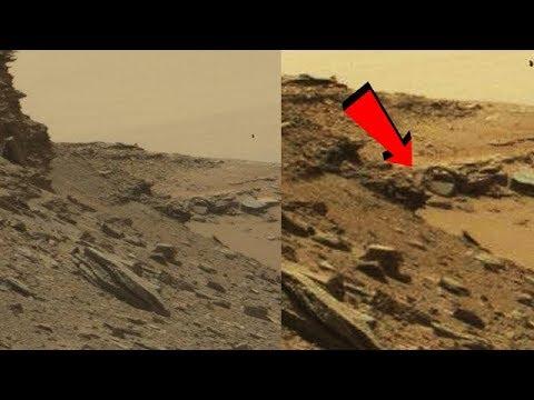 NASA que hace una estructura circular en Marte?