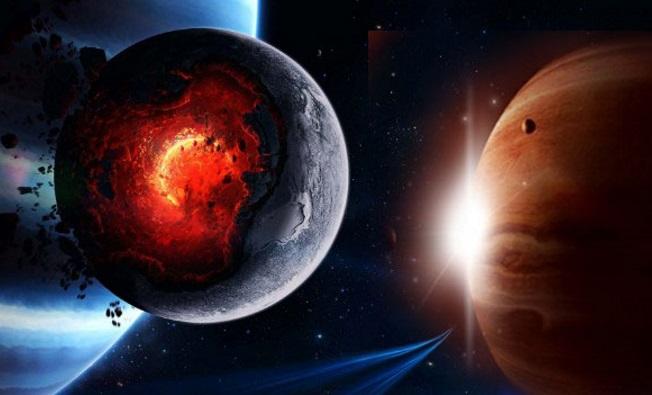 Un gran impacto espacial con PLANET X habría provocado la inclinación de Urano