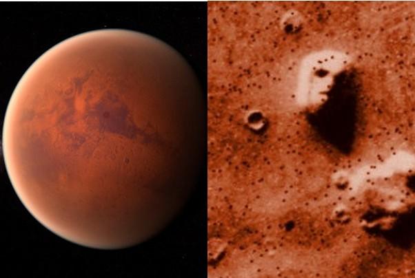 MARS, los científicos afirman que las pirámides y la esfinge de la región de Cydonia fueron construidas por una civilización alienígena