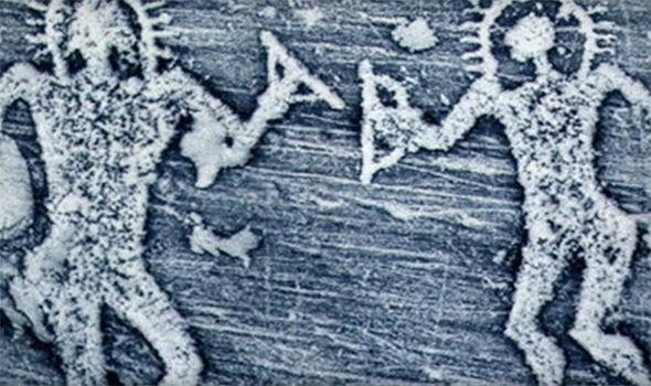 Estas 5 obras de arte ANTIGUAS evidencian que los EXTRATERRESTRES visitaron la Tierra