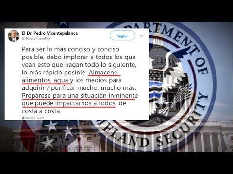 ALERTA FILTRACION SEGURIDAD NACIONAL DR PETER VINCENT PRY
