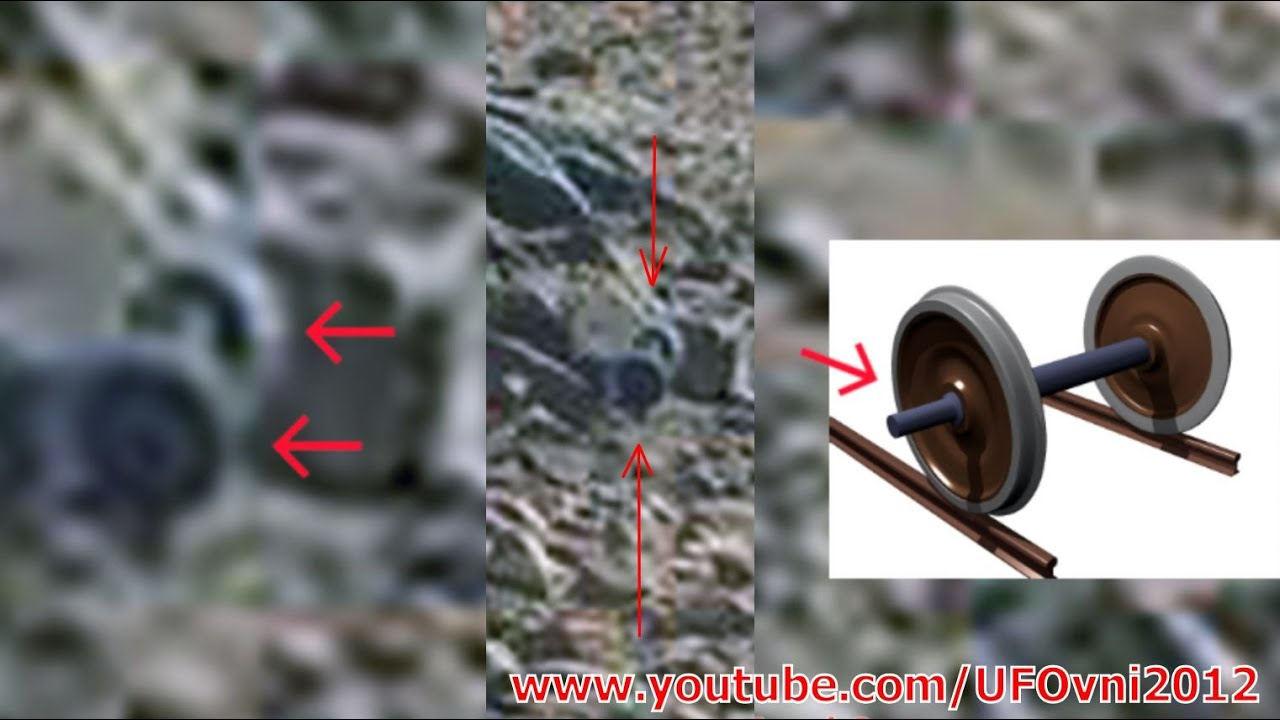 Ancient Aliens On Mars: Train Axle Caught By Curiosity