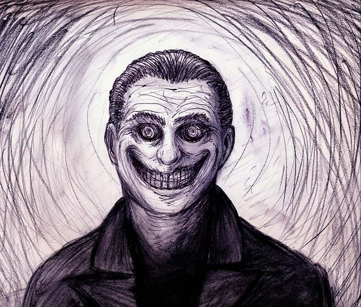 Aterradores encuentros con el hombre sonriente