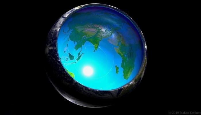 El Descubrimiento de dos enormes estructuras en el interior de la Tierra apoya la hipótesis de la Tierra Hueca?